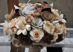 Why brides choose wooden bouquet?